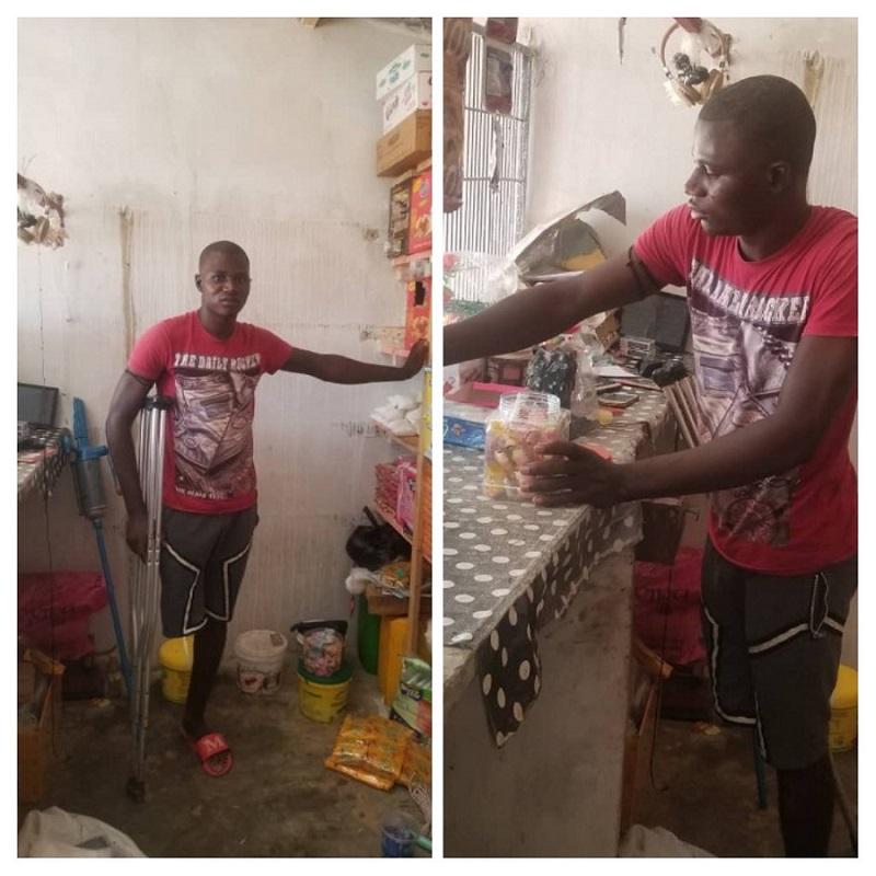 Migration : moi, Tidiane Camara revenu amputé de Libye 1